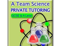 A Team Science GCSE and A level Private Tutoring ( Physics, Chemistry and Biology) Northamptonshire