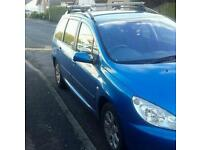 Peugeot 307 sw for sale or swap