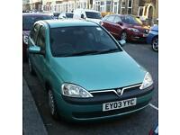 Vauxhall corsa 1.2 litre