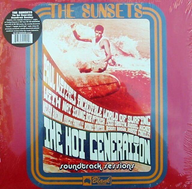 Sunsets Sealed OZ LP Hot generation Soundtrack sessions Surf Garage Tamam Shud
