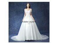 Adele laurent wedding dress brand new