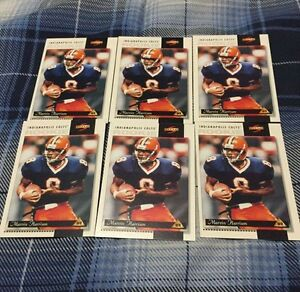 6 Score Marvin Harrison Rookie Football Cards #230 St. John's Newfoundland image 1