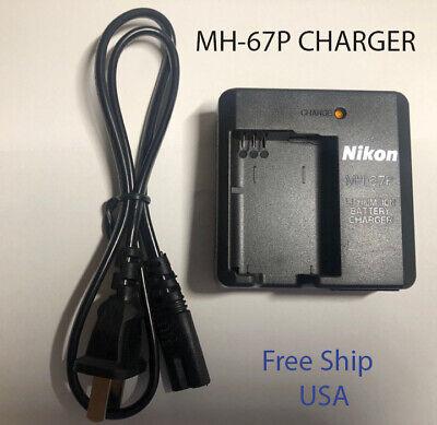 MH-67P Battery Charger For Nikon EN-EL23 COOLPIX P600 P610S S810C P900S