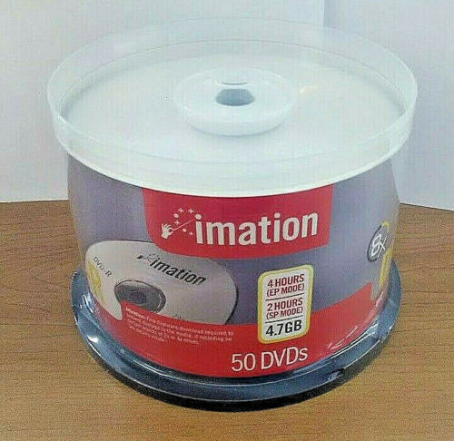 Imation DVD-R, 4.7GB, 50 pack