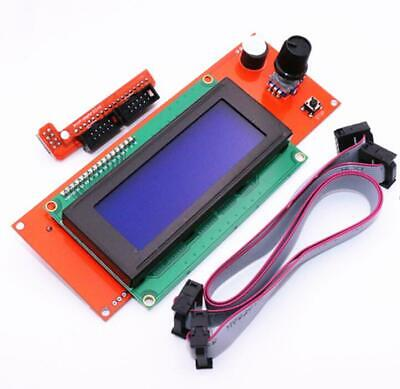 Reprap Ramps 1.4 2004 Lcd Display 3d Printer Smart Lcd Control With Adapter