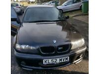 BMW 325i M Sport 192bhp, needs TLC, sold as is