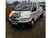 Ford transit recovery truck spec lift crew cab mot november £2295