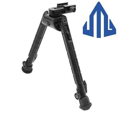 "Heavy duty 8/""-11/"" 20mm Picatinny side rail Mount Rifle bipod for hunting Polymer"
