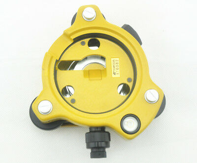 New Original Topcon Total Station Yellow Tribrach With Optical Plummet