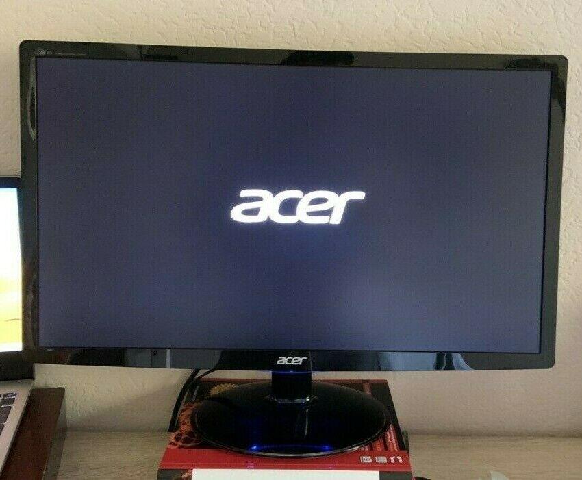 Acer FHD 24 Zoll Monitor Bildschirm (VGA, DVI, HDMI, 2ms Reaktionszeit) Ovp