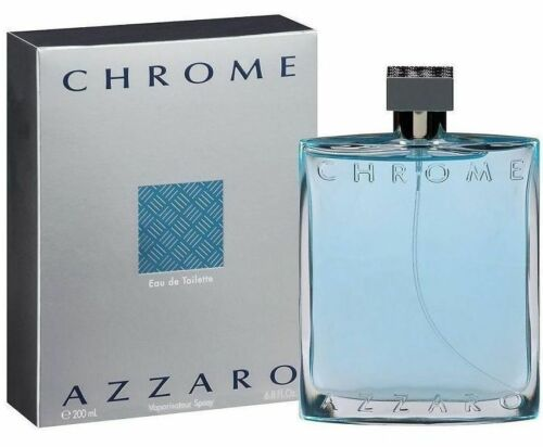 6.7 / 6.8 oz edt Men New in Box CHROME AZZARO Men Cologne