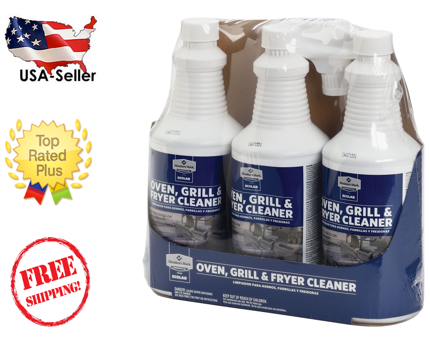 Member's Mark Commerical Oven, Grill and Fryer Cleaner by Ec