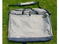KORUM Fishing XL Seat & Net Bag