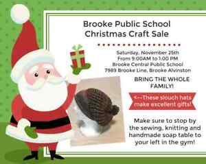 Brooke Public School Christmas Craft Show