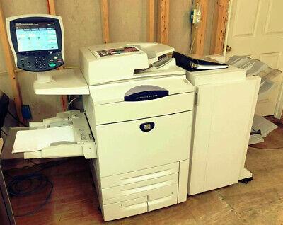 Xerox Docucolor 240 Printer Copier Finisher