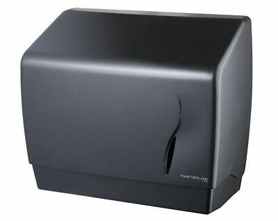 Pared Baño Papel Mano Toalla Papel Caja Dispensadora Industrial Negro ABS