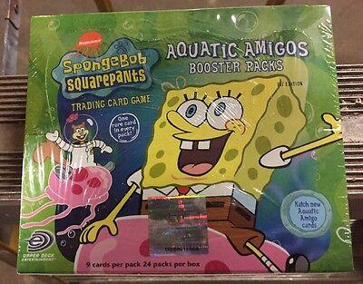 Bob Esponja Acuático Amigos 24-pack Booster Caja Para Juego de Cartas TCG...