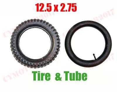 12.5 x 2.75 Tire & Inner Tube 47cc 49cc Razor MX350 MX400 Mini Pocket Dirt Bikes