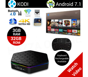 T95Z plus Android 7.1 TV BOX Amlogic S912 BT WIFI Octa core 3/32
