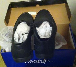 New George Men's dress shoes. Slipon 12M