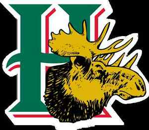 4 Lower Bowl Tickets 4 tonight's Moosehead Game (less then cost)