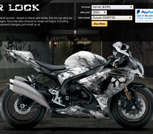 !! Price lowered!! Full Wrap for GSX-R 600-750