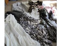 12 Ladies Jumpers and Tops - Size 14