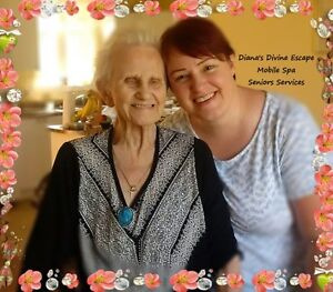 Seniors Mobile Nail Care & Spa Services