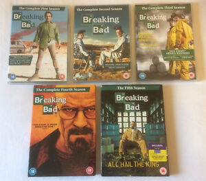 Complete Breaking Bad Season 1-5 - DVD - 2 sets available