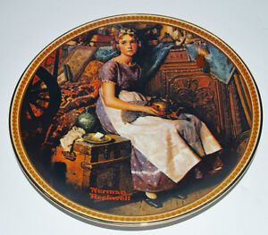 Norman Rockwell Plates, 4 Rediscovered Women Collection +1 Kitchener / Waterloo Kitchener Area image 5