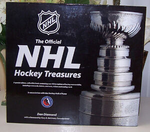 The Official NHL Hockey Treasures Hardcover Book London Ontario image 1