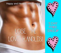 "5 day FREE ""Lose the Love Handles"" challenge!"