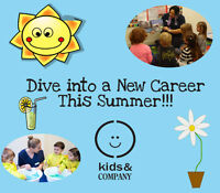 APPLY NOW!!! HIRING FOR PART-TIME EARLY CHILDHOOD EDUCATORS