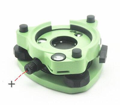 New Three-jaw Green Tribrach Woptical Plummet For Leicatrimbletopconsokkia