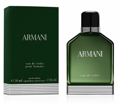 ARMANI EAU DE CEDRE POUR HOMME 100ML EAU DE TOILETTE SPRAY BRAND NEW & SEALED