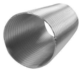 Flexible Aluminum Round Ducting Pipe Ventilation Tub 15mmx1.5m