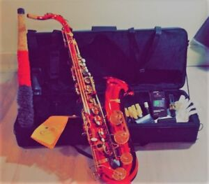 Saxophone Rouge Mendini By Cecilio