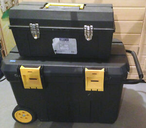 RENOVATOR TOOLS: 2 BOXES FULL OF TOOLS + TOOL BOXES