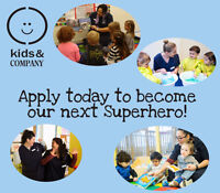 APPLY TODAY! Hiring Passionate Early Childhood Educators