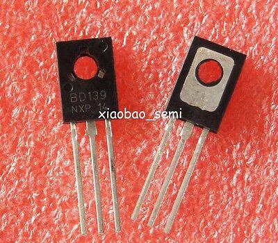 100pcs Bd139 Npn Transistor 1.5a 80v To-126 New