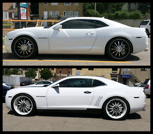 """22"""" Rims with Pirelli Tires (Only 2 Months Old)"""