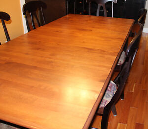 Dining Table and Hutch Prince George British Columbia image 6