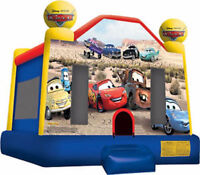 Inflatable Rentals Disney Themed Cars And Princess Castles