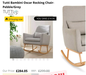 Rocking chair RRP£300
