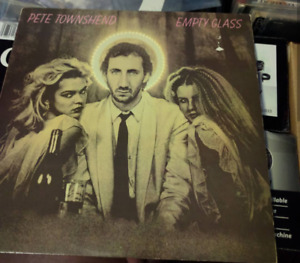 Pete Townshend - Empty Glass vinyl lp record