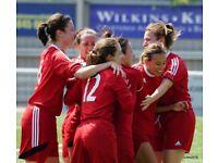 Players Wanted Women's Football Ladies Football Female Football L&SERWFL Premier