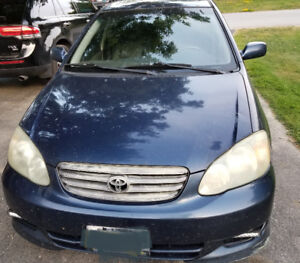2003 Toyota Corolla Sport Other