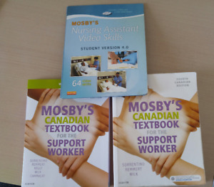 Mosby Personal Support Worker Textbook, workbook & DVD (4th ed)