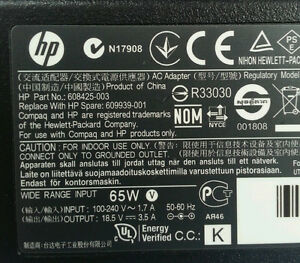 Genuine HP Laptop AC Adapter Power Supply  ADP-65HB BC London Ontario image 5