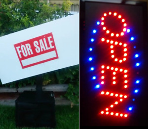 FREE Open Sign with ►MOTION SIGN WAVING MACHINE ◤ Watch VIDEO!
